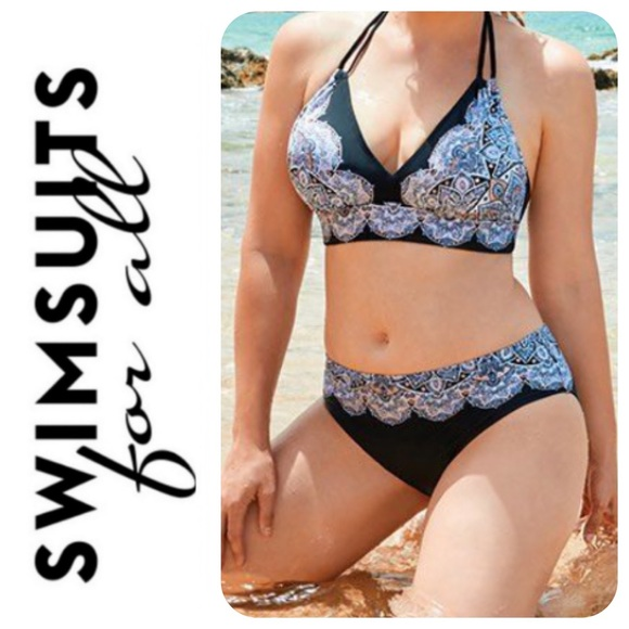 Swimsuits For All Other - Swimsuits For All Sashi Bikini Top, 14 - NWT